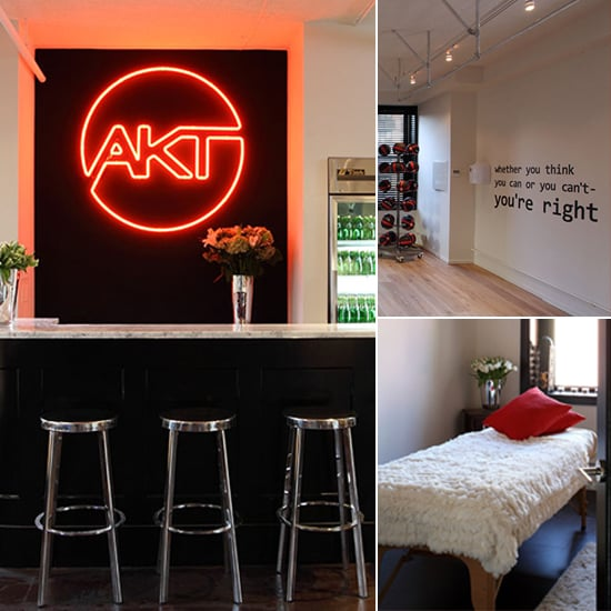 Pictures Of The Inside Of Anna Kaiser's AKT Gym Studio