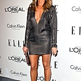 Jennifer Aniston stepped out for Elle's Women in Hollywood Tribute.