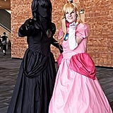 Dark Peach and Princess Peach