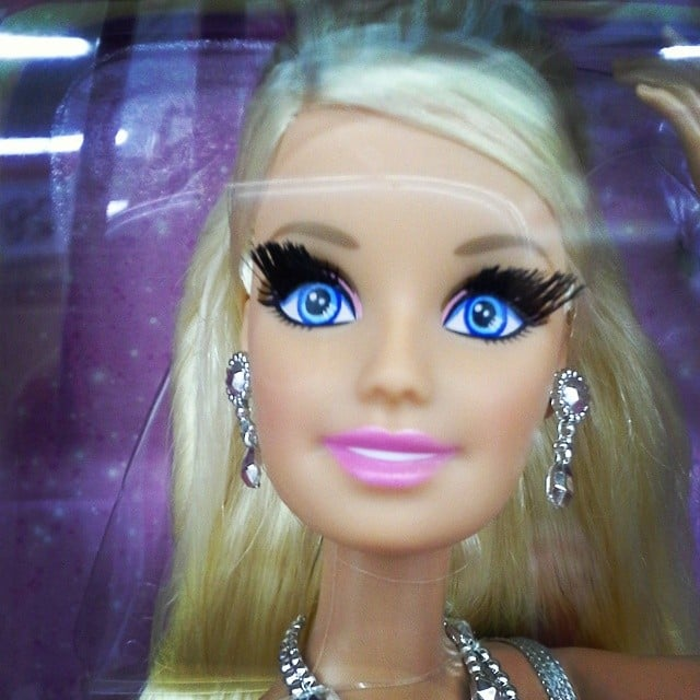Barbie, You Need to Calm Down With Those Lashes