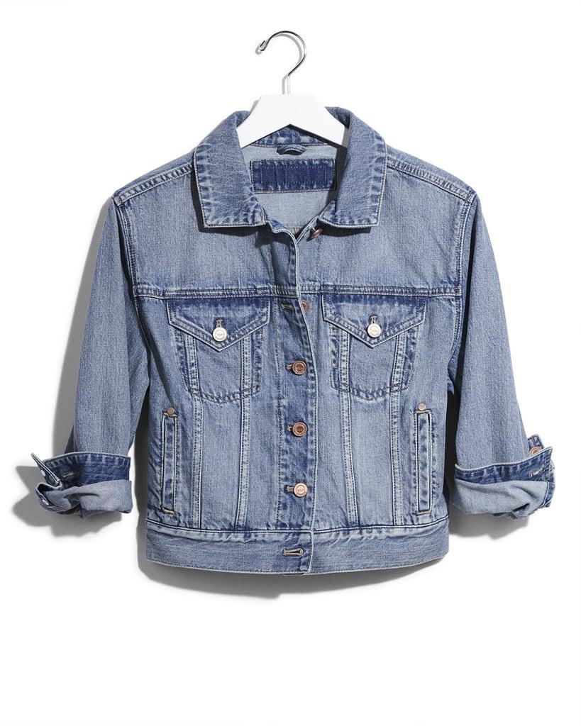 Karlie Kloss x Express Cropped Denim Jacket ($88)