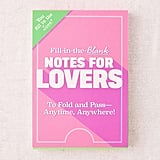 Fill-In-The-Blank Notes For Lovers