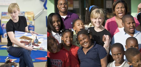 Reese Witherspoon Visits New Orleans For Idol Gives Back