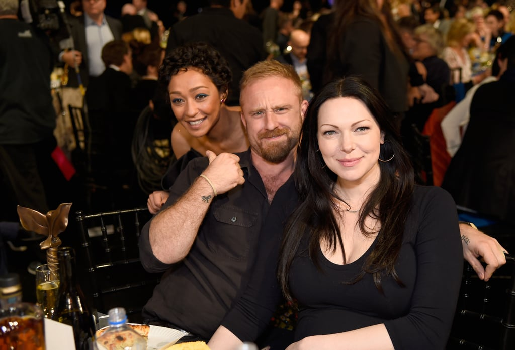 Pictured: Ruth Negga, Ben Foster, and Laura Prepon
