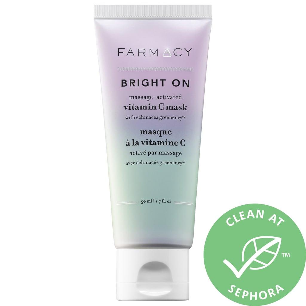 Farmacy Bright On Massage-Activated Vitamin C Mask