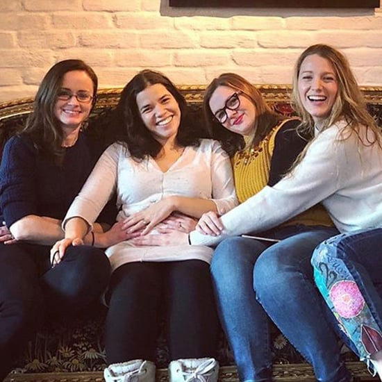 America Ferrera Gets Baby Advice From Sisterhood Costars