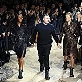 Kate Moss and Naomi Campbell Louis Vuitton Runway Jan 2018
