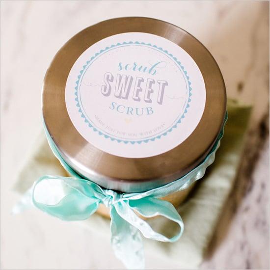 """""""Scrub Sweet Scrub"""" Label"""