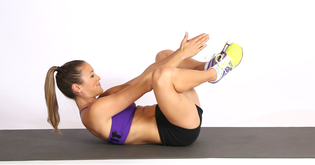 How To Do The Butterfly Crunch Popsugar Fitness
