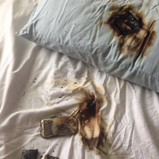 Phone Burns Under Pillow