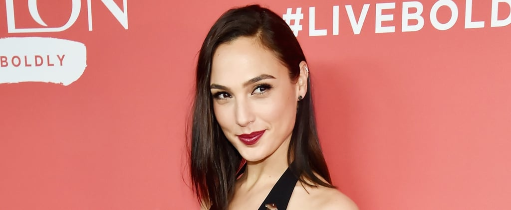Forget Gal Gadot's Plunging Neckline, You Have to Look Down to See How Sheer Her Dress Is