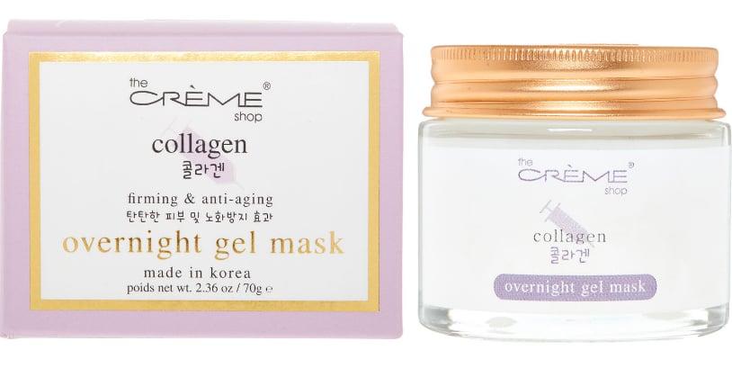 The Crème Shop Collagen Overnight Gel Mask | Best Overnight