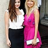 Nicole Richie and Lucy Hale attended the Dior Beauty Garden Party held at LA's Chateau Marmont in October 2011.