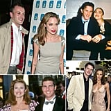 We can't help but also reminisce about the surprising celebrity combinations who have headed to the altar together. Remember Angelina Jolie's first husband, Jonny Lee Miller, or Jennifer Garner's onscreen romance-turned-marriage to Scott Foley? We've rounded up a bunch of surprising nuptials, so scroll to jog your memory!