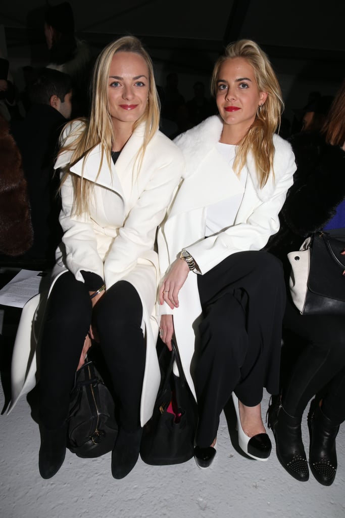 Claire Courtin and Virginie Courtin