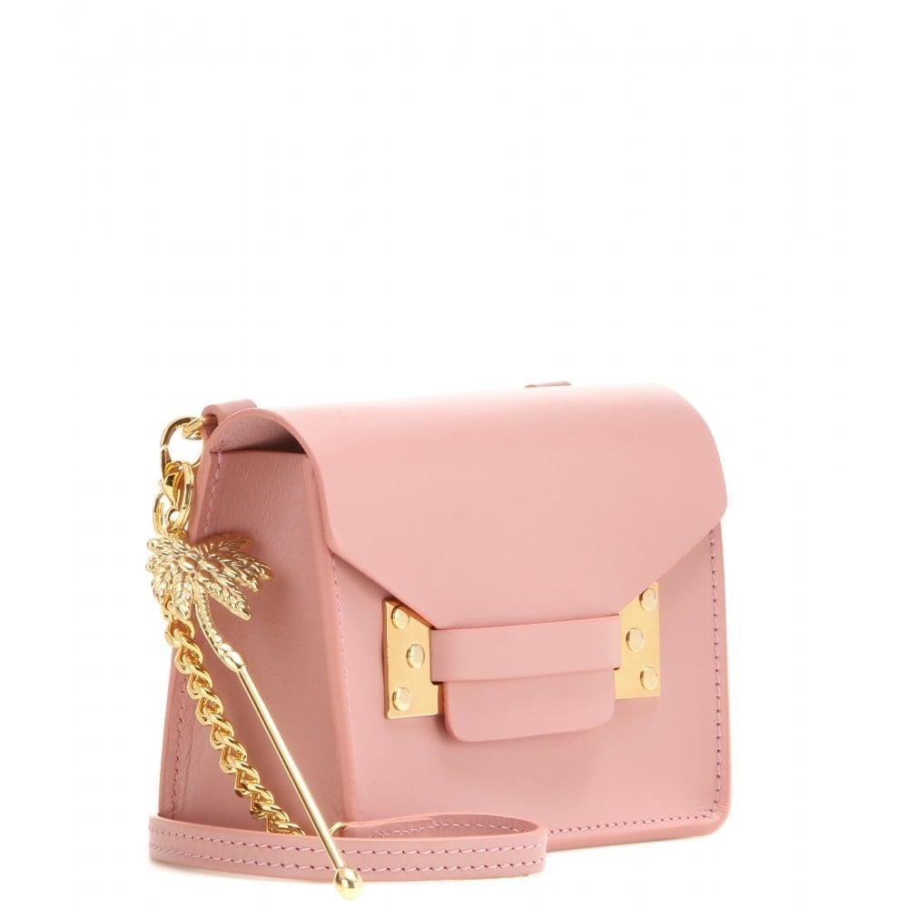 Sophie Hulme Exclusive Pink Nano Milner Crossbody Bag | Affordable ...