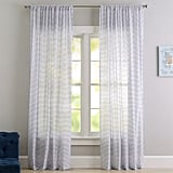 Textured Dot Sheer Curtain