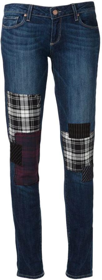 Paige Patched Jeans ($259)