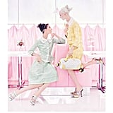 Pretty pastels and ladylike garb show up in spades in Louis Vuitton's Spring 2012 ad campaign. Source: Fashion Gone Rogue