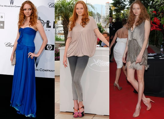 Lily Cole at Cannes Film Festival