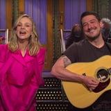 Carey Mulligan's Husband Marcus Mumford Adorably Crashes Her SNL Monologue