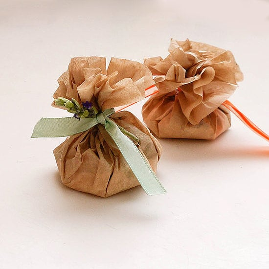 Coffee-Filter Scented Sachets