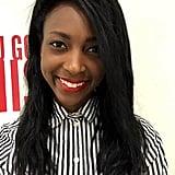 Brea Cubit, editorial assistant, Celebrity
