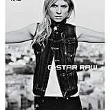 The G-Star Raw Spring '12 ad campaign featuring Clemence Poesy was shot in Lisbon, Portugal.