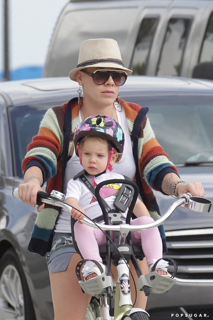 On One Bikes >> Pink Wearing a Bikini in Miami With Her Family   Pictures   POPSUGAR Celebrity Photo 7
