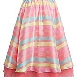 Halogen x Atlantic-Pacific Stripe Organza Skirt