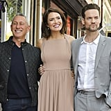 Mandy Moore and Shane West at Walk of Fame Ceremony 2019