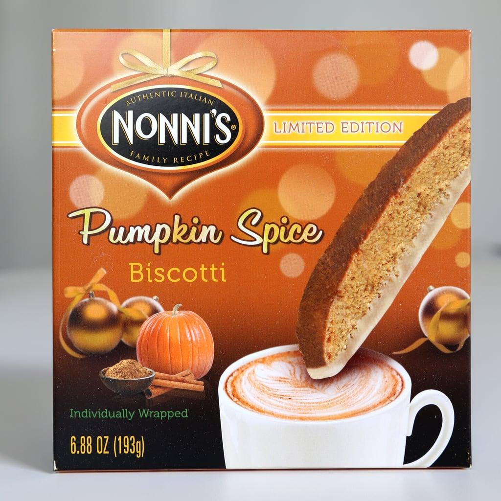Nonni's Pumpkin Spice Biscotti ($3)