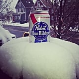 An ice-cold beer always makes things better.  Source: Instagram user bostontallboy