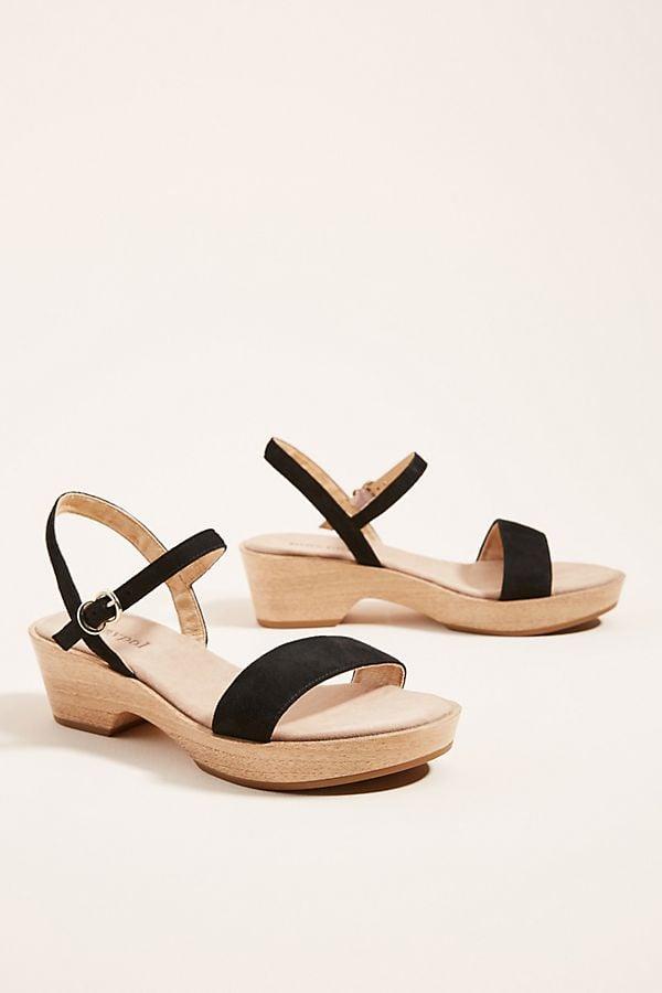 Maypol Wooden Heeled Sandals | Best Anthropologie Sandals