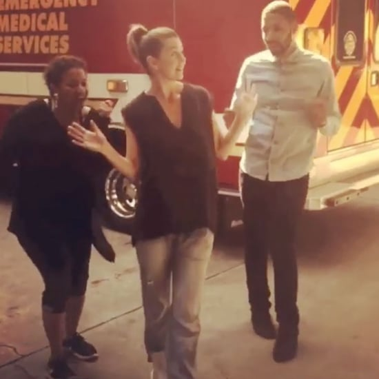 Ellen Pompeo Dancing Instagram September 2016