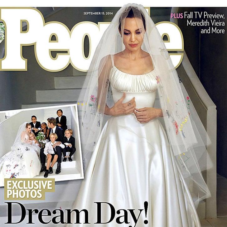 Angelina Jolie's Wedding Dress Isn't Even Her Best Versace Look