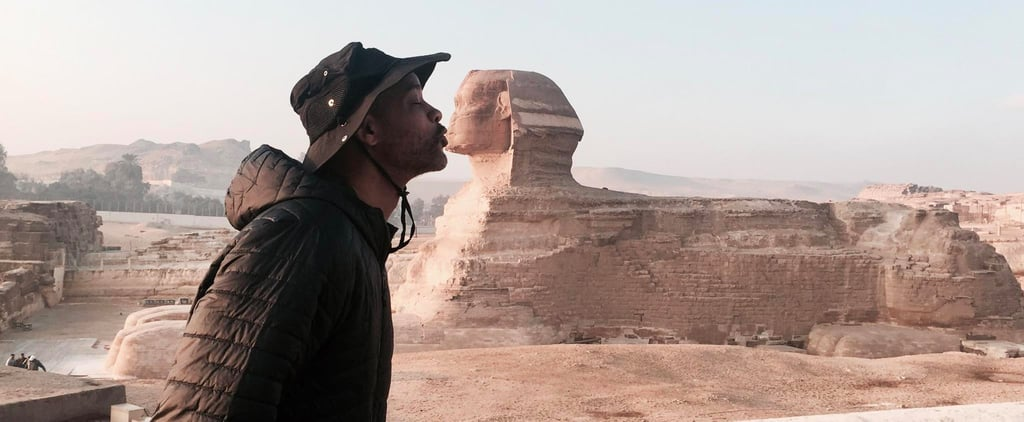 Will Smith Pictured in Morocco and Egypt | March 2017