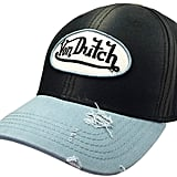 Von Dutch Dad Distressed Baseball Cap Vintage Style