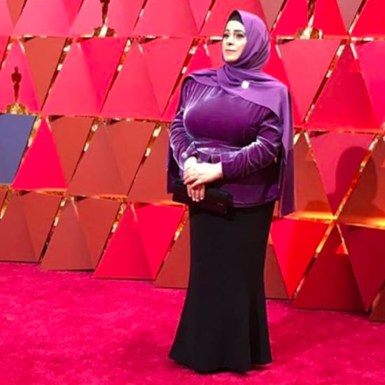 Syrian Refugee Wears Brandon Maxwell Red Carpet 2017 Oscars