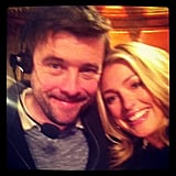 Cat Deeley hung out with a friend. Source: Instagram user catdeeley