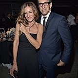 Sarah Jessica Parker and Kenneth Cole posed for photos at Milk Studios in LA.