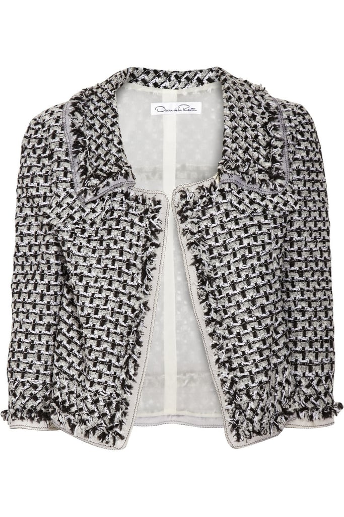 Oscar de la Renta for The Outnet bouclé tweed jacket ($995)