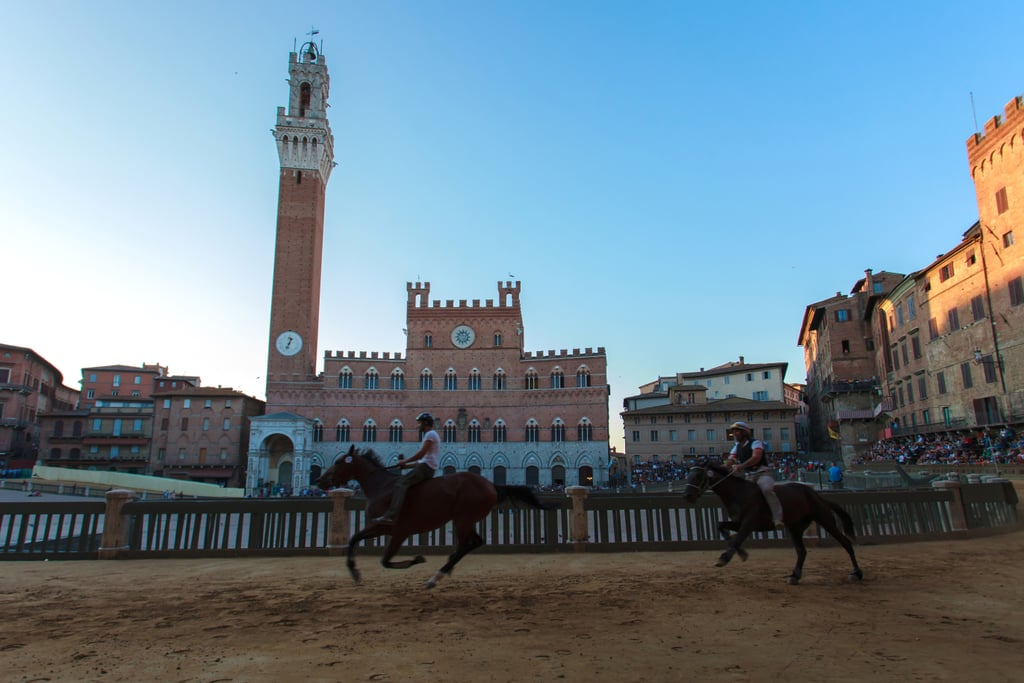 Attend the Palio Horse Race in Siena, Italy