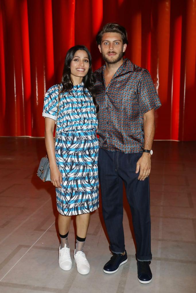 Freida Pinto and Cory Tran