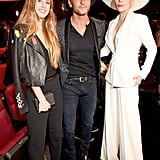 Maggie McGraw, Tim McGraw, and Lady Gaga at the 2016 American Music Awards