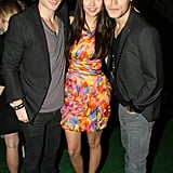 Ian Somerhalder, Nina Dobrev, and Paul Wesley