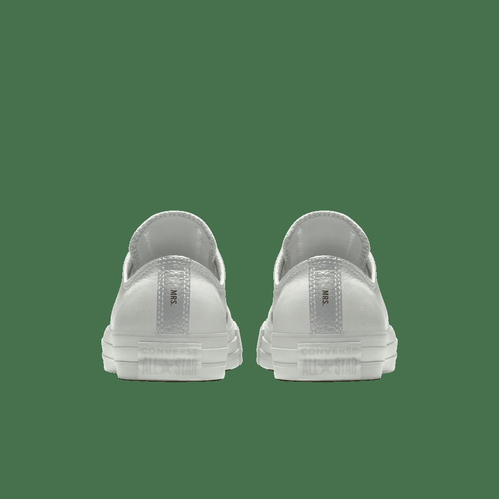 Custom Bridal Sneakers For Wedding