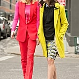 Don't Be Afraid to Colorblock! Mix and Match Red With Pink