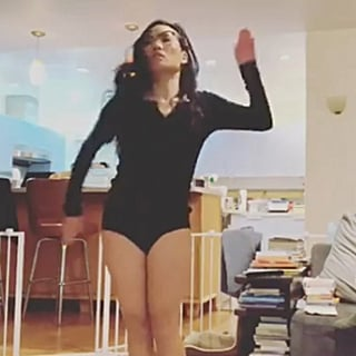 Ali Wong Recreates Katelyn Ohashi's Gymnastics Routine