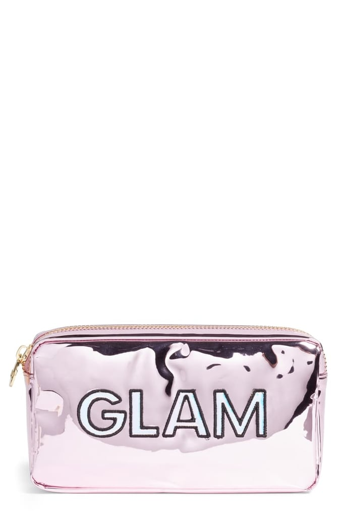 Stoney Clover Lane Glam Small Patent Makeup Bag